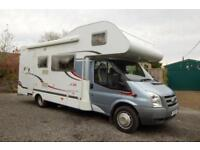 Hymer built Carado A366 Family Motorhome, 4 seatbelts, lots of extras