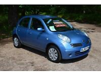 2007 NISSAN MICRA 1.4 Spirita Luxury 5dr Automatic ONLY 37,000 MILES