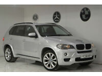 2009 BMW X5 3.0 30d M Sport+RARE 7 SEATER+LOW MILEAGE+LONG MOT+HUGE SPEC+PX+SE+