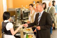 Cafétéria d'entreprise, lun-ven, jours