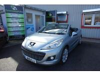 2011 PEUGEOT 207 HDI CC GT LOVELY CAR WITH HISTORY CONVERTIBLE DIESEL