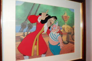 "Disney Peter Pan ""Captain Hook and Mr Smee"" LE  # 68/500"