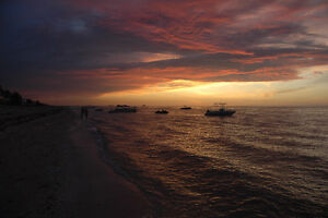 BREATHTAKING SUNSETS @PROGRESO YUCATAN MEXICO /monthly rate