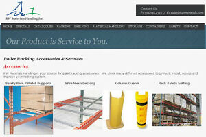 FREE PALLET RACK IDENTIFICATION CHART. PALLET RACKING GUIDE Kitchener / Waterloo Kitchener Area image 9