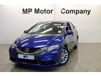 2013 13 HONDA CIVIC 1.3 I-VTEC SE 98 BHP 5DR 6SP HATCH,21,000M,MOST SHX4, BLUE