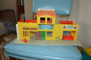 Vintage - Fisher price demi ville