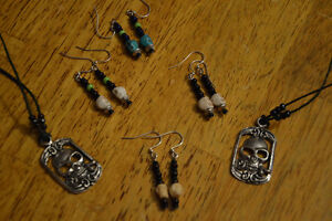 Halloween Earings and Necklaces