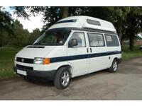 AutoSleeper Topaz 2 Berth VW T4 hightop camper with full washroom