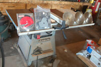 10 inch DELTA Table Saw 2 h/p 110v.