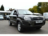 2007 HYUNDAI TUCSON 2.0 CRTD TURBO DIESEL AUTOMATIC BLACK NOT RAV4 CRV PX SWAP