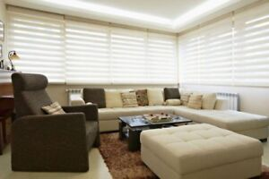 Luxeblinds.ca Save 85% OFF New Sheer+Roller Shades Custom Made