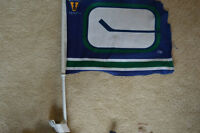 Vancouver Canuck Car Attachable fan Flag!!
