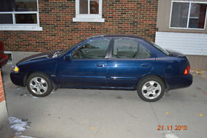 2005 Nissan Sentra Sedan Kitchener / Waterloo Kitchener Area image 5