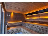 Sauna fitter/builder