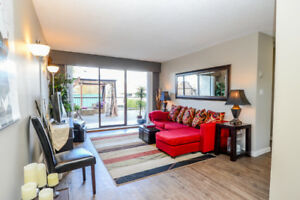 Investment 1 bdrm condo with  400sqft of outdoor living space!