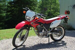CRF230L (double-usage, 6000km)