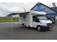 2010 CHAUSSON FLASH 04 3/4 BERTH 4 TRAVELLING SEATS 6 SPEED MANUAL 2.2 DIESEL 14