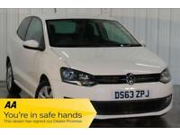 2014 63 VOLKSWAGEN POLO 1.4 MATCH EDITION 3D 83 BHP