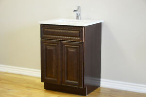 "Bathroom vanity 24""-72"" Solid Wood Vanity on sale from $399"