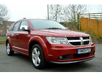 2009 DODGE JOURNEY 2.0 CRD AUTO RT TURBO DIESEL AUTOMATIC SXT 7 SEATER PX SWAP