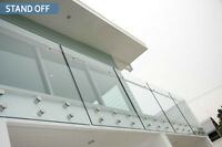 Stand-off Glass Railing Installer
