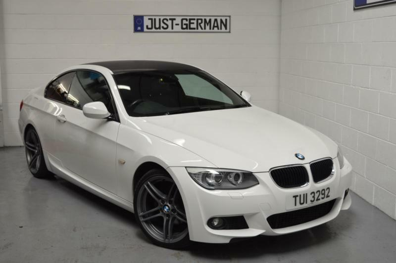 2011 11 bmw e92 3 series 318i 2 0 m sport coupe alpine white low miles in wigan - Bmw 2 series coupe white ...