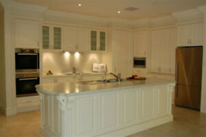 QUALITY KITCHEN CABINETS, COUNTER TOPS, VANITY - BEST PRICES