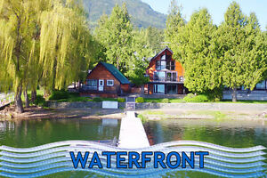 Sorrento - waterfront home with guest cottage on Shuswap Lake!!