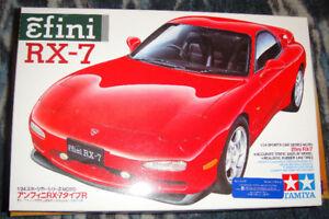 Mazda RX 7 1/24 scale plastic model kit made by Tamiya
