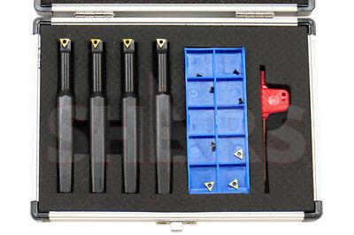 Shars 12 Shank Indexable Mini Boring Bar 4pcs Set New