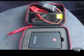 800mAh Jump Starter and external battety charger