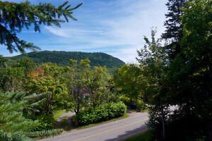 Stoneham - terrain résidentiel avec vue sur Mont Wright