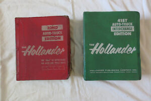 HOLLANDERS 32nd and 41st EDITION
