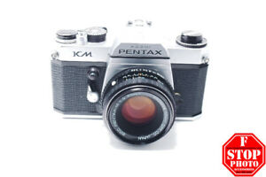 Pentax KM with SMC Pentax-M 50mm f2 Lens