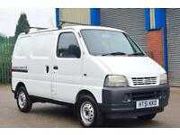 White Suzuki Carry 2002 1.3 petrol