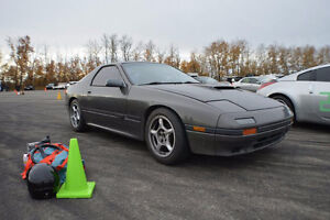 1987 Mazda RX-7 GXL Coupe (2 door) Rolling Chassis