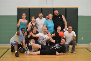 Winter Co-ed Adult Dodgeball Leagues in Ottawa and Kanata!