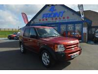 2008 LAND ROVER DISCOVERY 3 TDV6 HSE 2.7 DIESEL AUTOMATIC 7 SEATER 5 DOOR 4X4 4