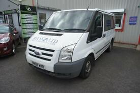 2009 FORD TRANSIT 280 TREND TOURNEO 9 STR GOOD CONDITION FOR AGE AND MILES DIE