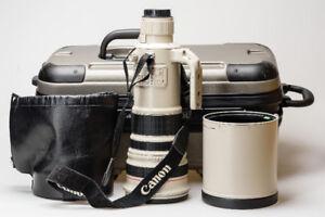 Canon EF 500mm f/4 L IS USM (Image Stabilization Version 1) - MI