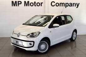 2013 13 VOLKSWAGEN UP 1.0 HIGH UP 74 BHP 3DR ECO HATCH,48,000M,FVWSH, 5 STAMPS