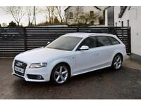 2012 AUDI A4 S LINE AVANT IBIS WHITE FASH 2 KEYS EXCEPTIONAL EXAMPLE NOT 320D