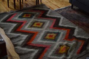 Vintage 5x7 Pattern Rug