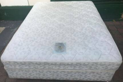 Good condition Sealy Brand double bed set. Delivery option availa