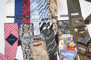MEN'S BRAND NAMES TIES ARMANI BOSS CANALI PAUL SMITH AND MORE