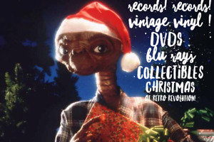 Christmas for New Vinyl Collectors *Check out ☆ RETRO REVOLUTION