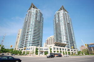 2 Bedrooms 2 washrooms condo for rent close to Square 1