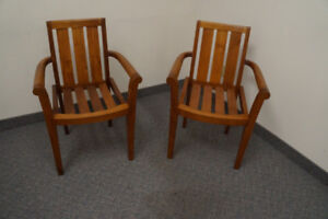 Beautiful Teak Indoor/Outdoor Arm Chair
