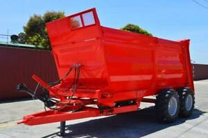 MANURE SPREADER SUPER SPREADER 20,000 KG CAPACITY TRACTOR