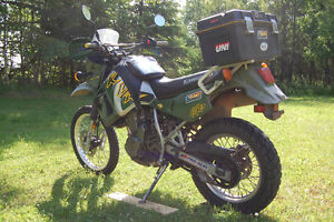 KLR 685, ready for adventure